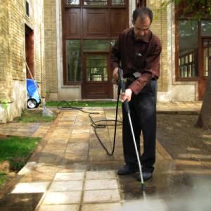 نظافت سطوح با بهره گیری از واتر جت صنعتی