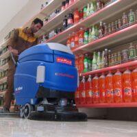 اسکرابر صنعتی و نظافت صنعتی