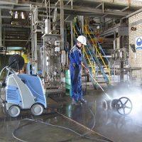 عملکرد کارواش صنعتی آب گرم