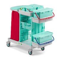 ترولی نظافتی مناسب برای مراکز درمانی