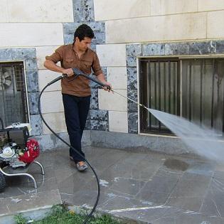 ارزیابی فشار آب ورودی به واترجت صنعتی