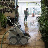 استفاده از واترجت صنعتی در شستشوی باغ و گلخانه