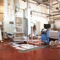 استفاده از واترجت صنعتی آب گرم