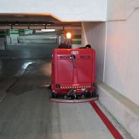سویپر خودرویی و نظافت پارکینگ