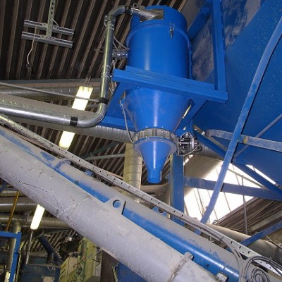 The advantages of transferring material and plants by pneumatic way