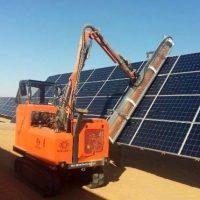 ماشین شنی دار شستشوی سلول خورشیدی