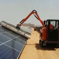 ماشین شستشوی صفحات خورشیدی