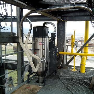 پاک سازی آلاینده های صنعتی با جاروبرقی صنعتی فولاد