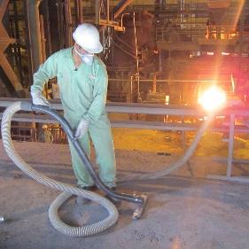 جاروبرقی صنعتی چگونه به صنعت فولاد کمک می کند؟