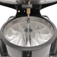 سیستم نظافت فیلتر جاروبرقی صنعتی