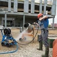 کاربرد دستگاه واترجت صنعتی بنزینی