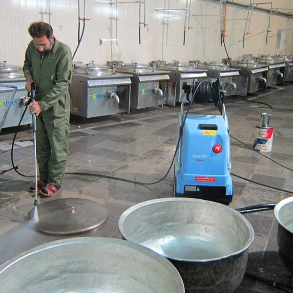 استفاده از واترجت صنعتی در فضاهای داخلی