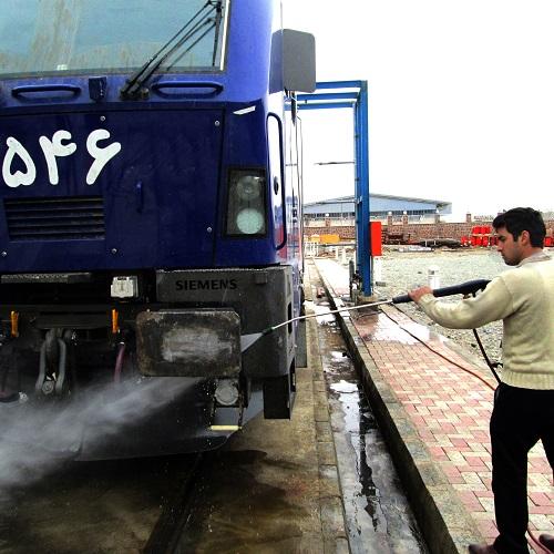 دستگاه کارواش صنایع حمل و نقل برای شستشوی عمیق
