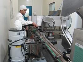 جارو برقی صنعتی خط تولید کارخانه