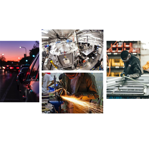 جاروبرقی صنعتی خط تولید کارخانه صنعتی