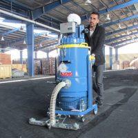 نظافت صنعتی با جاروبرقی صنعتی
