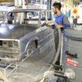 جاروبرقی صنعتی کارخانه خودروسازی - شرکت ابراهیم