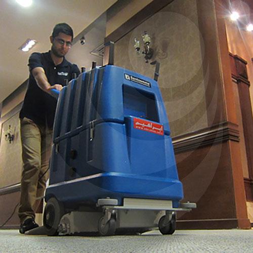 نقش فرش شوی صنعتی در هوای سالم محیط کار