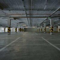 نظافت پارکینگ با واترجت صنعتی