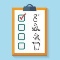 چک لیست نظافت محل کار