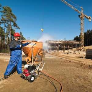 کاربرد واترجت صنعتی در صنعت ساختمان