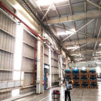 جلوگیری از خطر آتش سوزی با تمیزی سقف مراکز صنعتی