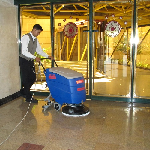 نظافت صنعتی هتل