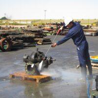 کارواش صنعتی قطعات و تجهیزات