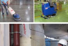 انواع تجهیزات مکانیزه شستشوی صنعتی