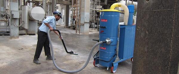 استفاده از جاروبرقی آب و خاک در صنایع غذایی
