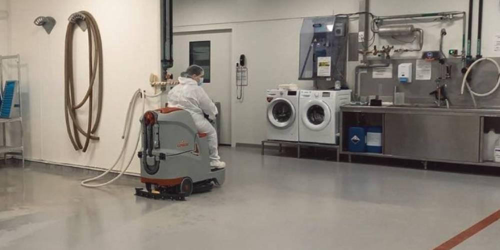 کیفیت بالای نظافت مکانیزه بیمارستان ها و مراکز بهداشت و درمان