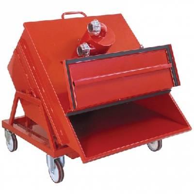 مخزن رابط مکنده 600 لیتری 600 liter vacuum pre separator