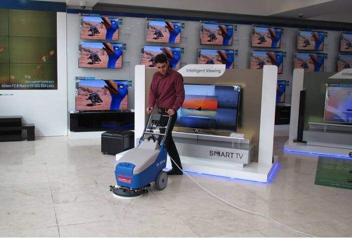 35k10 walk behind floor scrubber dryer