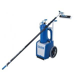 facade cleaning machine  - facade and window cleaning equipment - Qleen Purastart - Qleen Purastart