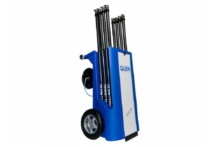 facade and window cleaning equipment - Qleen Disy Electro Plus