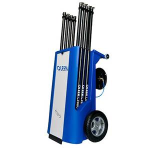 facade cleaning machine  - facade and window cleaning equipment - Qleen Disy Electro - Qleen Disy Electro