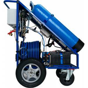 facade cleaning machine  - facade and window cleaning equipment - Qleen Profi - Profi