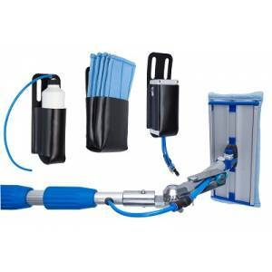 window cleaning equipment  - window cleaning system - indoor complete system - indoor