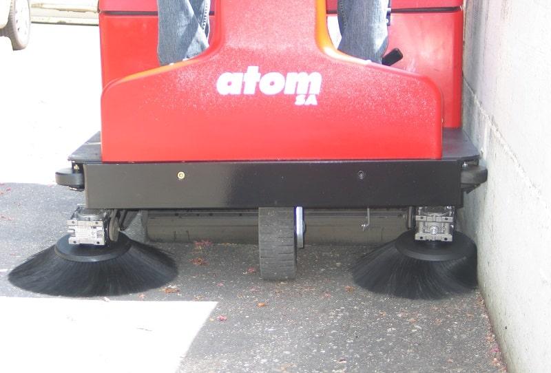 دستگاه سوییپر Atom E SA
