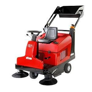 سویپر صنعتی  - industrial Sweeper - Atom E SA - AtomESA