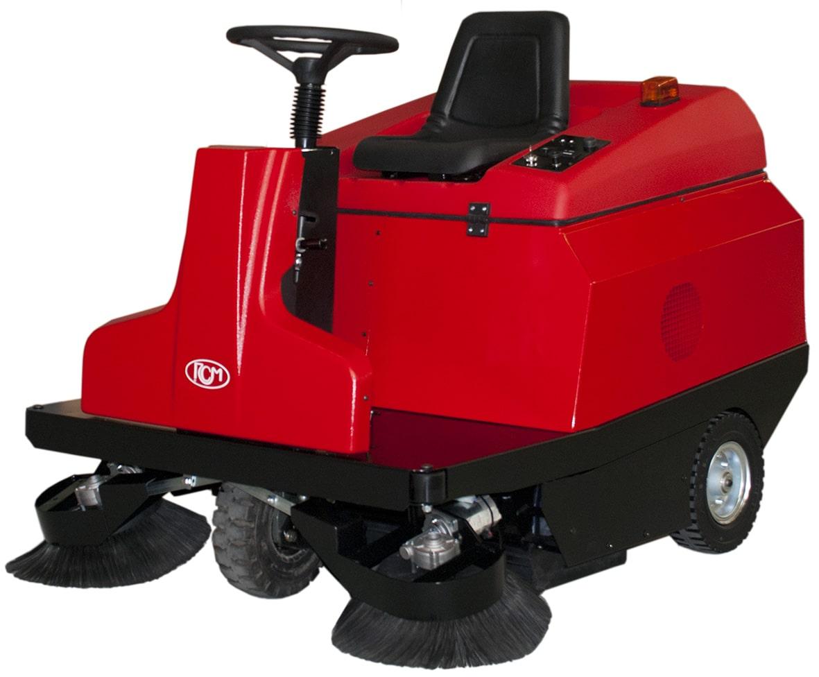 R850 N E ride on sweeper