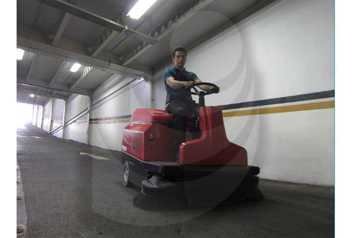 The Ability of Industrial Sweeper Cleaning Inclined Plane