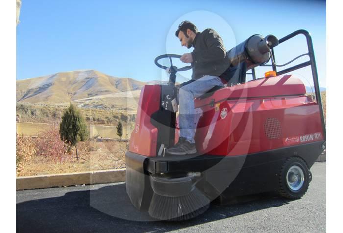 سوییپر خودرویی گاز سوز