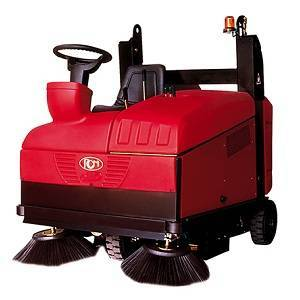 سوییپر Otto E Top  - industrial sweeper - Otto E - Otto E Top