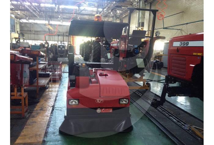 کاربرد سوییپر صنعتی در نظافت های صنعتی