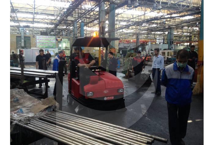 سوییپر صنعتی و نظافت موثر کارخانه ها