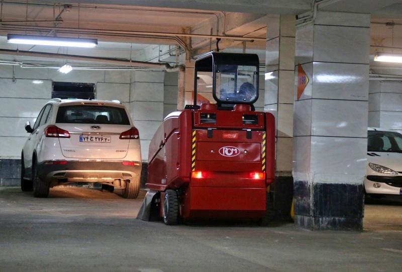 سوییپر خودرویی و نظافت پارکینگ ها