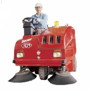 جاروی شهری  - industrial sweeper - Super Boxer D - Super Boxer D