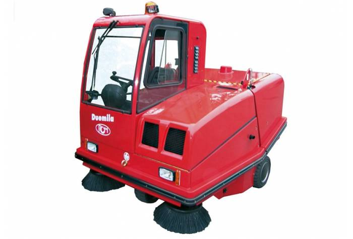 view of industrial Sweeper Duemila D