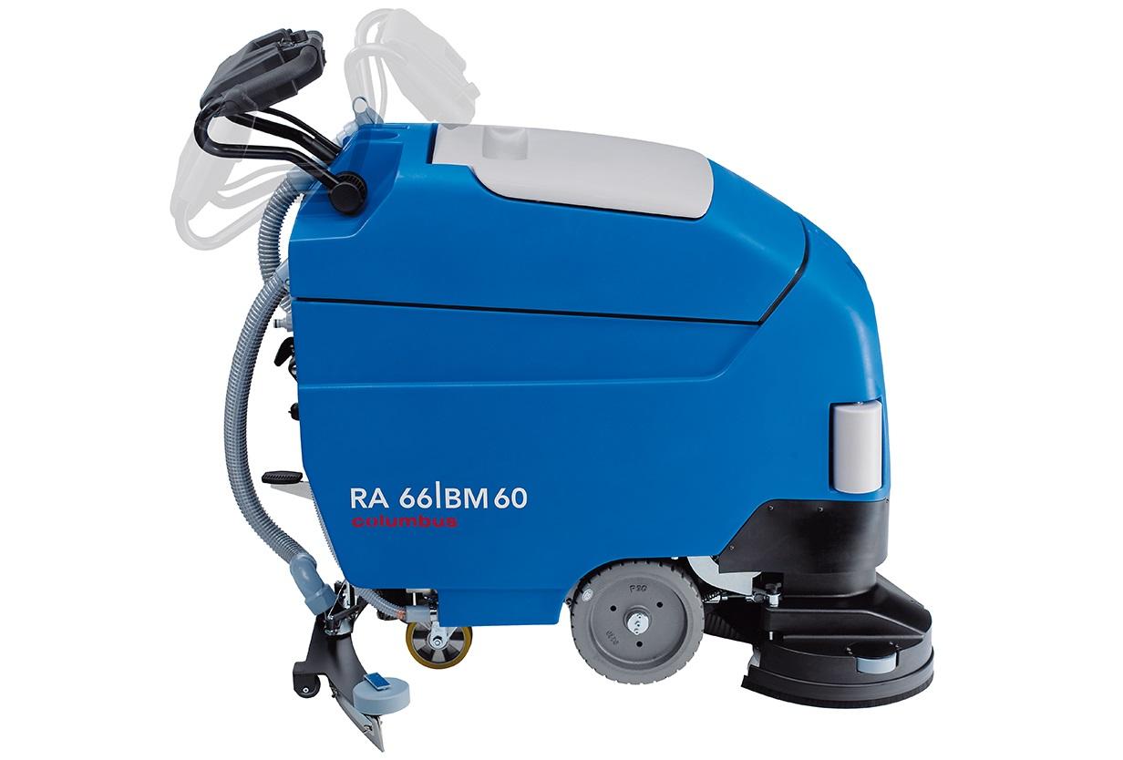 نمای کلی اسکرابر RA66BM60